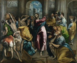 Cleansing the Temples El_Greco_016