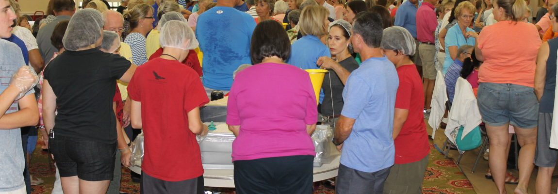 Feeding 20,000 People in 46 Minutes: Saint John and CRS Helping Hands Event