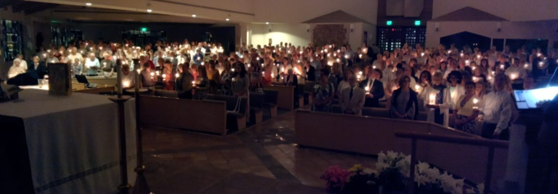 2018 Easter Vigil Brings Church From Darkness to Light