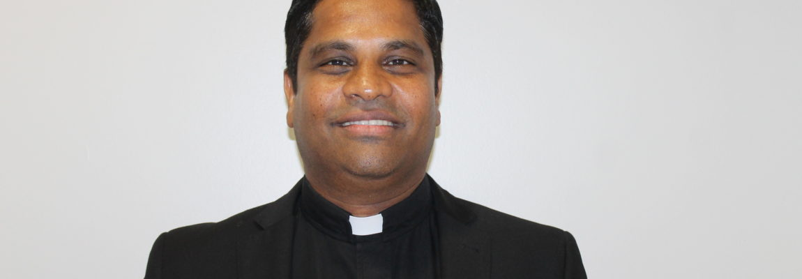 Saint John Welcomes our new Priest, Father Arun Paul
